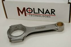 Molnar Connecting Rods For 4.500 Chevy 454 Bbc 8 Weights Crank 6.535 Min. Rods