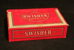 Vintage Swisher Sweets Empty 6 Cent Cigar Box Advertising Tobacciana Tobacco