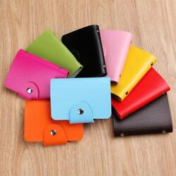 New Cute Womens Wallet Holder Pocket Business ID Card Credit Bag Case X 3 $0.99