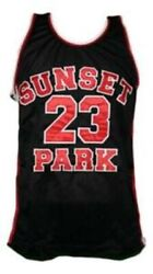 Busy-bee 23 Sunset Park Movie Basketball Jersey Black Any Size
