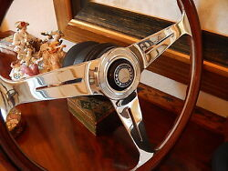 Mercedes R129 500sl Wood Steering Wheel Hub 1990 - 98 Horn Button Assembly New