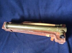 Wwi Model 1918 Trench Periscope With Leather Carrying Case