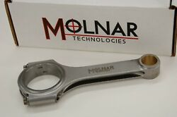 Molnar 6.800 Billet Connecting Rods For Buick 400/430/455 Big Block W/.990 Pin