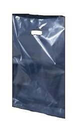 Clear Plastic Polythene Shopping Carrier Bags Party Gift Bags Security 22x18+3and039and039