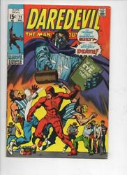 Daredevil 71 Vg+ Gene Colan Murdock Tribune 1964 1970 More Marvel In Store