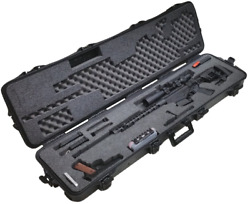 Outdoor Tactical Pre-Made Precision Rifle Waterproof Case with Accessory Box