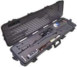 Case Club Pre-Made Springfield M 1 A Waterproof Rifle Case with Accessory Box