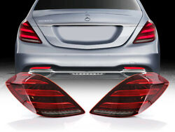 Usa Facelift Maybach Amg Plug And Play Led Tail Light Set For 2014-17 W222 S Class