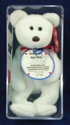 Rare Valentino Beanie Baby Heart To Heart By Michael Bolton Autographed