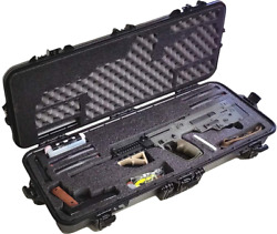 Pre-Made IWI Tavor Waterproof Rifle Case with Accessory Box & Silica Gel to Help