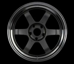 Rays Volk Racing Te37v 15x8.0j +0 4x114.3 Gunmetalic/rim Dc Set Of 2 From Japan