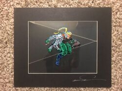 Cyberforce 1995 Toy Fair Promotional Animation Cel 22/25 Made Top Cow Image