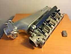 Nissan CA18 intake manifold plenum 70mm throttle body Nuke rail Bosch 1000cc