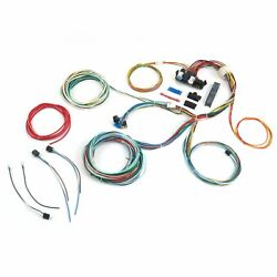 1953 - 1956 Ford Truck Wire Harness Upgrade Kit Fits Painless Circuit Fuse Block