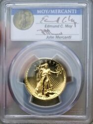 2009 Mercanti Moy $20 Ultra High Relief Gold Double Eagle PCGS MS69PL (1 of 43)