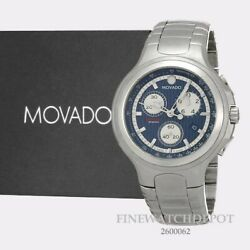 Authentic Movado Menand039s Swiss Derek Jeter 800 Series Menand039s Watch 2600062