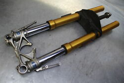 2011 Ducati Multistrada 1200 S Touring Front Forks Ohlins Suspen10 11 12 Aa2