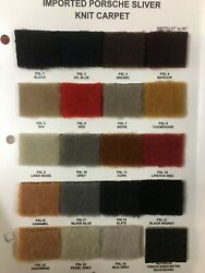 Porsche Sliver Knit Imported Carpet Fabric For Automotive Upholstery