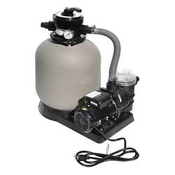 Swimline 2400 Gph 14in .5hp Pool Sand Filter Pump Combo   71405 For Parts