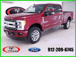2019 Ford F-250 Limited 2019 Limited New Turbo 6.7L V8 32V Automatic 4WD Pickup Truck Moonroof Premium