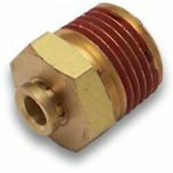 1/2 Push To 1/2 Npt Male Air Fitting Brass Icon Sbc Bbc 409 Cal Customs