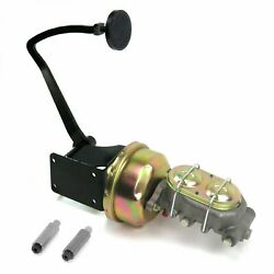 47-54 Chevy Truck 7 Single Brake Pedal Kit Disk/drum3in Blk Pad