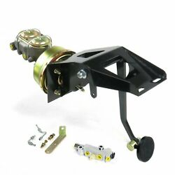 53-56 Ford Truck Fw 8 Single Brake Pedal Kit Disc/disc3in Blk Pad Parts