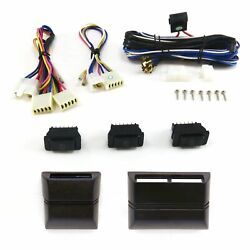 Power Window Switch Kit With Wiring Harness 12 Volt Universal Hot Rod Street