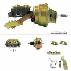 61-64 Ford Truck Firewallfw Mount Power 7 Single Brake Booster Kit Disc/disc