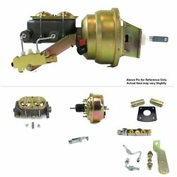 1965-70 Chevy Full Size Protouring Fw Mount Pwr 7 Single Booster Kit Disc/disc