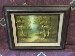 Original Oil Painting By Listed Artist Phillip Cantrell