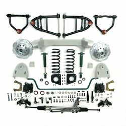 1947-1954 Chevy Pickup Truck Mustang Ii Complete Front End Suspension Ifs Power