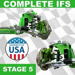 Stage 5 47-54 Chevy Truck Mustang Ii Ifs Kit Super Deluxe Pro-touring Two-ten
