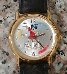 Fossil Disney L.e. 1704/2000 60 Year Mans 33mm Mickey Mouse Character Watch Lot