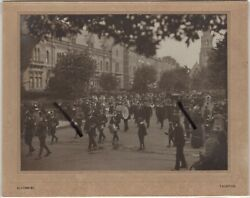 Taunton Street WW1 Military Procession by Soldiers Somerset & Scottish Regiments