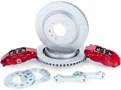 Alcon 4-piston Rear Big Brake Kit For 2009-2018 Ford F-150 And Raptor