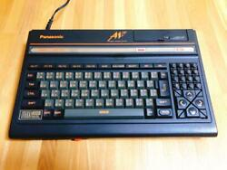 Panasonic Msx2 Fs-a1f Console With Manual Retro Game Maintenance Completed