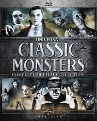 Universal Classic Monsters Complete 30-film Collection Blu-ray New