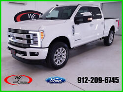 2019 Ford F-350 Limited 2019 Limited New Turbo 6.7L V8 32V Automatic 4WD Pickup Truck Moonroof Premium