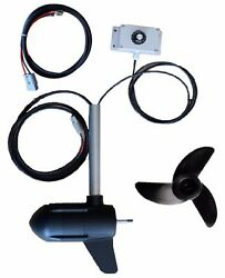 So300-24v 160lb Electric Boat Trolling Motor With Speed Controller Saltwater Diy