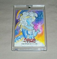 Cryptozoic Adventure Time Trading Card Sketch Card Tracy Bailey