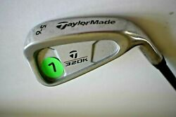 Taylor Made 320 5 6 Iron Kids Flex Lite K 40 Graphite 31.5quot; long GUC