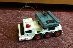 Vintage Toy Car Electric Truck Soviet Russian Ussr Radio Control Tractor