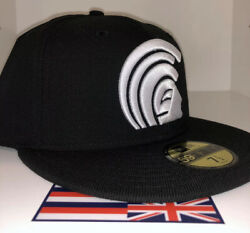 Ds Fitted Hawaii Black/ White Mua Hat 7 1/2 Not Farmers Market Hawaii 808allday