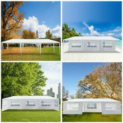 10and039x30and039 Outdoor Party Wedding Tent Canopy Gazebo Pavilion Cater With 7 Walls