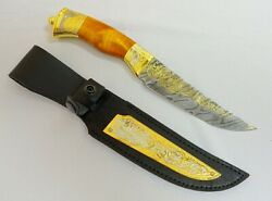 Gift For A Man. The Knife Falcon Damascus. Work Of Art. A Great Gift For A Man.