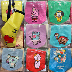 BTS BT21 Official Authentic Goods Waterproof Beach Bag Tracking Number $37.99