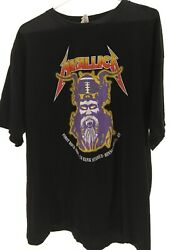 2016 Metallica Us Bank Sold Out Stadium Tour Size 2xl First Rock Show Sold Out
