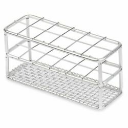 Stainless Steel Testtube Rack Wire Constructed 25mm 12 Places Case 64