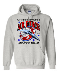 Pullover Hooded Sweatshirt United States Air Force That Others May Live